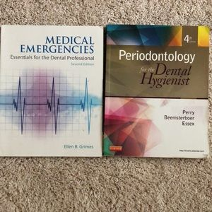 Other - DH MED EMERGENCY + PERIO BOOKS 📚